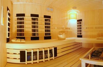 Szauna otthon - fürdő / WC ötlet, modern stílusban