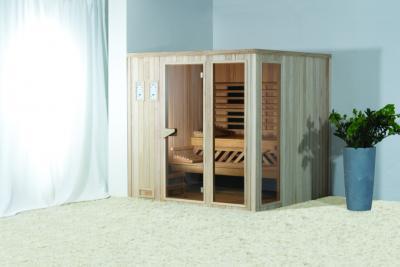 Szauna otthonra - fürdő / WC ötlet, modern stílusban