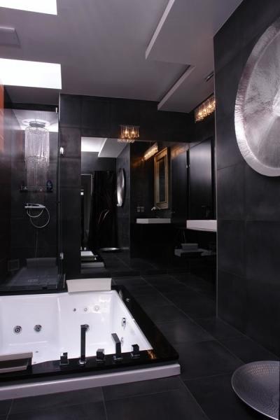 Otthoni wellness a fürdőszobában - fürdő / WC ötlet, modern stílusban