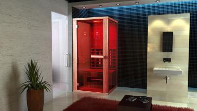 Infraszauna a fürdőben - fürdő / WC ötlet, modern stílusban
