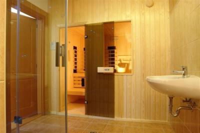 Finn szauna - fürdő / WC ötlet, modern stílusban