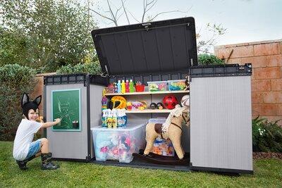 Nagyméretű kerti tároló - kert / udvar ötlet, modern stílusban