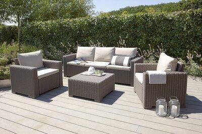 Kerti bútor szett - kert / udvar ötlet, modern stílusban
