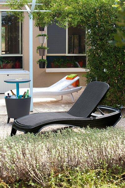 Napozóágy - kert / udvar ötlet, modern stílusban