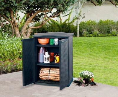 Kerti tárolóbútor - kert / udvar ötlet, klasszikus stílusban