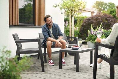 Modern kerti bútorok - erkély / terasz ötlet, modern stílusban