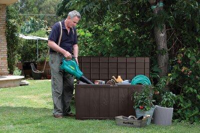Kerti tároló láda - kert / udvar ötlet, modern stílusban