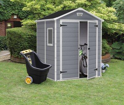 Kerti tároló ház - kert / udvar ötlet, modern stílusban