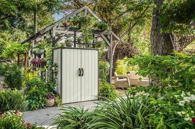 Kerti tároló szekrény - kert / udvar ötlet, modern stílusban