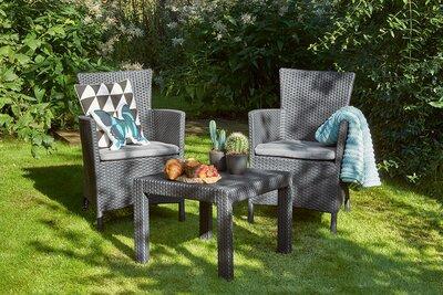 Kerti bútor garnitúra - kert / udvar ötlet, modern stílusban
