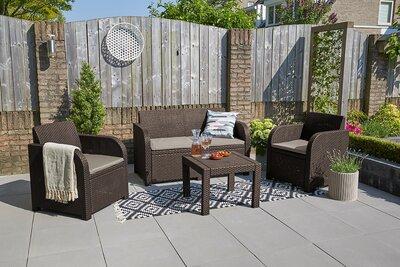 Modern kerti bútor garnitúra - erkély / terasz ötlet, modern stílusban