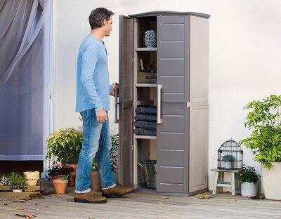 Kerti tároló szekrény - erkély / terasz ötlet, modern stílusban