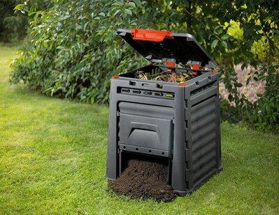 Kerti komposzt láda - kert / udvar ötlet, modern stílusban