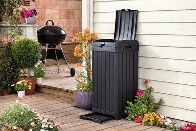 Kerti komposztláda - erkély / terasz ötlet, modern stílusban