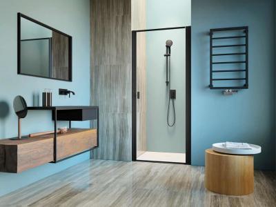 Zuhanyajtó - fürdő / WC ötlet, modern stílusban