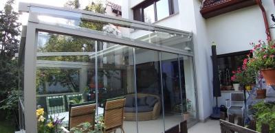 Modern télikert - erkély / terasz ötlet, modern stílusban