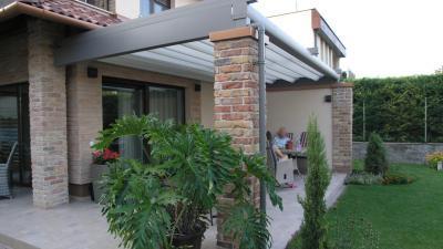 Pergola - erkély / terasz ötlet