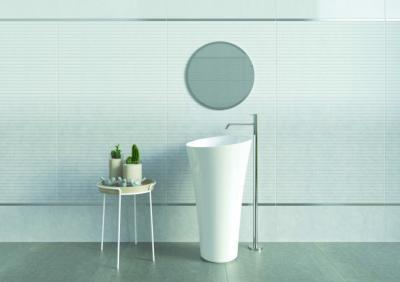 Dekoratív csempe - fürdő / WC ötlet