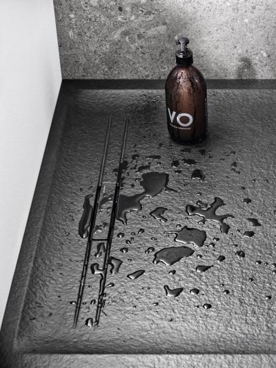 Futurisztikus zuhanytálca - fürdő / WC ötlet, modern stílusban
