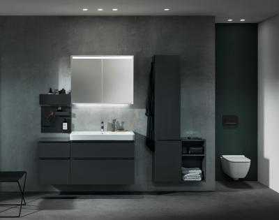Elegáns, minimalista fürdőszoba termékcsalád - fürdő / WC ötlet
