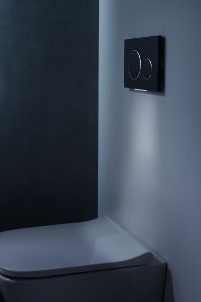 Innovatív vécé működtető lap - fürdő / WC ötlet