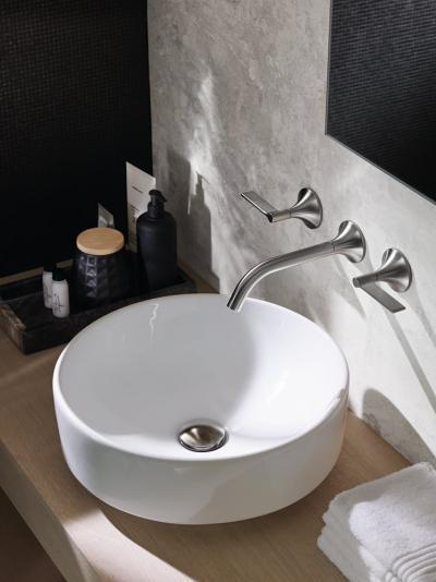 Kör alakú mosdókagyló - fürdő / WC ötlet, modern stílusban
