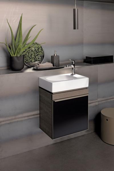 Design mosdószekrény ráültethető mosdókagylóval - fürdő / WC ötlet