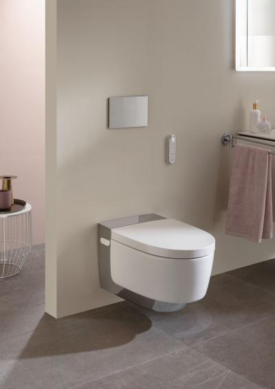 Futurisztikus wc csésze működtető lappal - fürdő / WC ötlet, modern stílusban