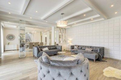 Elegáns és modern nappali - nappali ötlet