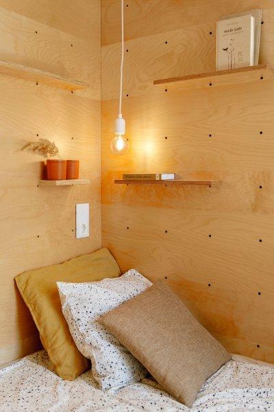 Hálószoba részlet - háló ötlet, modern stílusban
