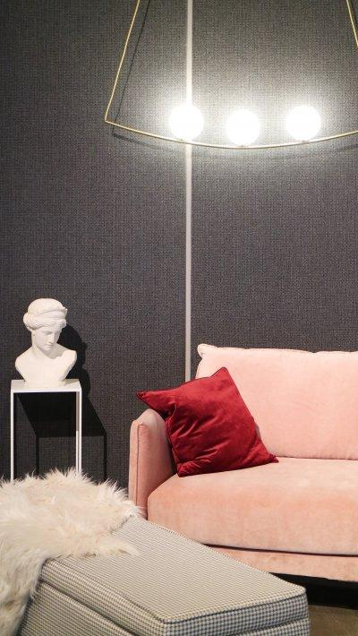 Nőies nappali - nappali ötlet, modern stílusban