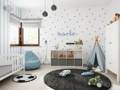 Hangulatos fiú szoba - gyerekszoba ötlet, modern stílusban