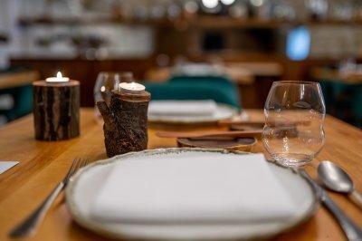 Hangulatos vacsora - konyha / étkező ötlet, modern stílusban