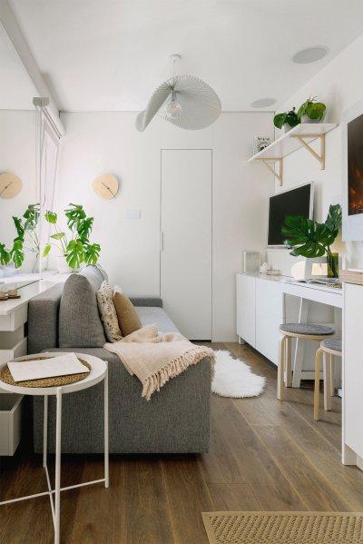 Garzon lakás nappalija - nappali ötlet, modern stílusban
