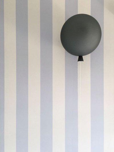 Csíkos tapéta a fiú szobában - gyerekszoba ötlet, modern stílusban