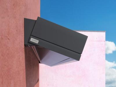 Napellenző - homlokzat ötlet, modern stílusban