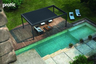 Pergola árnyékoló - erkély / terasz ötlet, modern stílusban