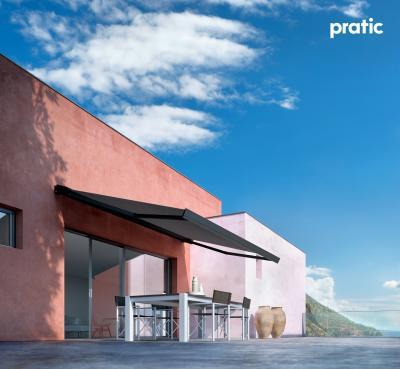 Karos napellenző - erkély / terasz ötlet