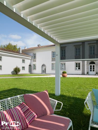 Pergola - kert / udvar ötlet, klasszikus stílusban