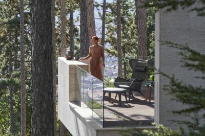 Kényelmes kerti fotel - erkély / terasz ötlet, modern stílusban