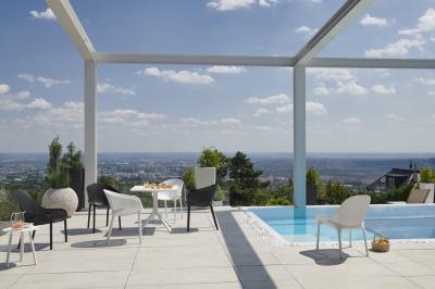 Kényelmes kerti bútorok - erkély / terasz ötlet