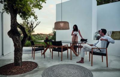 Étkező szett kertbe, teraszra - erkély / terasz ötlet, modern stílusban