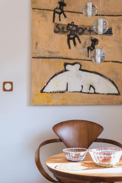 Látványos villanykapcsoló - konyha / étkező ötlet, modern stílusban