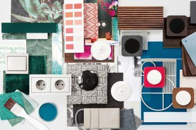 Kapcsolók és konnektorok minden stílusban - nappali ötlet, modern stílusban