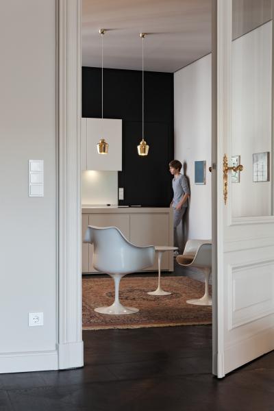 Tripla kapcsoló - nappali ötlet, modern stílusban