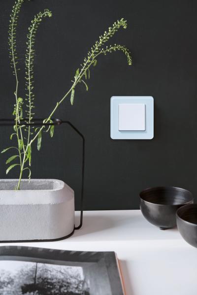 Elegáns villanykapcsoló - nappali ötlet, modern stílusban
