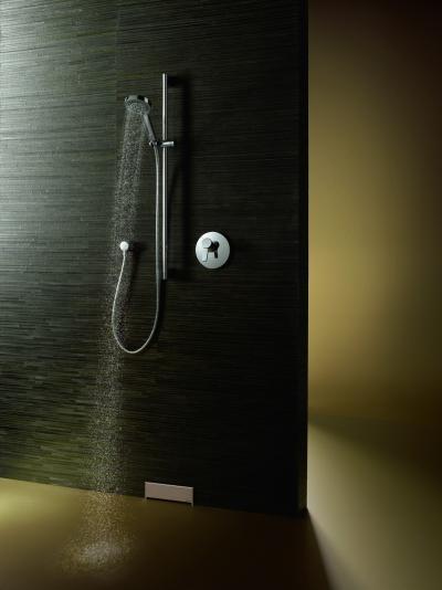 Minimál zuhany - fürdő / WC ötlet