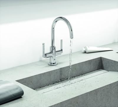 Minimál stílusú csap - fürdő / WC ötlet