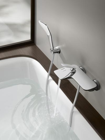 Kád és zuhany csaptelep - fürdő / WC ötlet