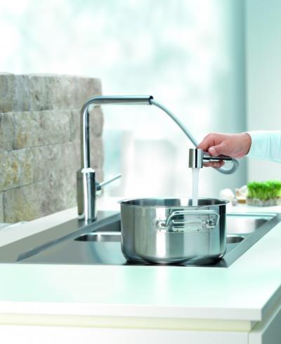 Kihúzható konyha csaptelep - konyha / étkező ötlet